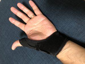 50代からの筋トレ 肘関節痛は親指の関節症によるものだった